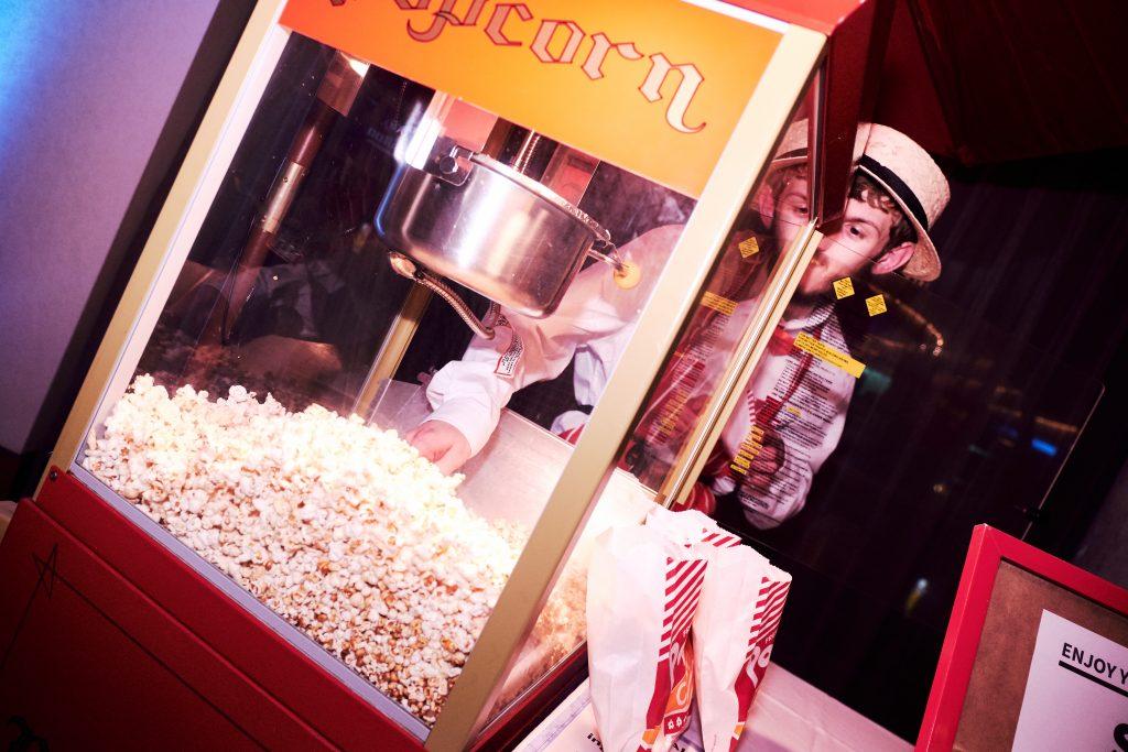 Popcorn server